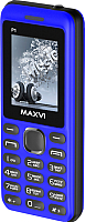 Мобильный телефон Maxvi P1 (черный/синий) -