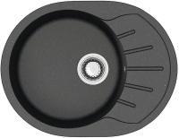 Мойка кухонная Berge BR-5801 (черный) -