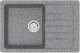 Мойка кухонная Berge BR-7602 (графит) -