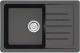 Мойка кухонная Berge BR-7602 (черный) -