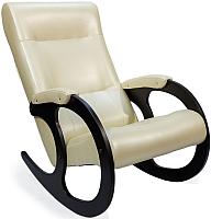 Кресло-качалка Calviano Бастион 3 (эко-кожа) -