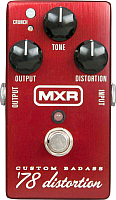 Педаль электрогитарная MXR M78 Badass Distortion -