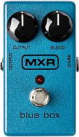 Педаль электрогитарная MXR M103 Blue Box Octave Fuzz -