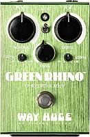 Педаль электрогитарная Dunlop Manufacturing WHE202 Green Rhino Overdrive -