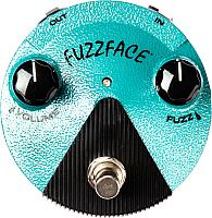 Педаль электрогитарная Dunlop Manufacturing FFM3 Jimi Hendrix Fuzz Face Mini Distortion -