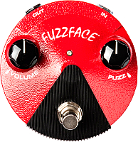 Педаль электрогитарная Dunlop Manufacturing FFM2 GE Fuzz Face Mini -