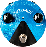 Педаль электрогитарная Dunlop Manufacturing FFM1 Silicon Fuzz Face Mini Distortion -
