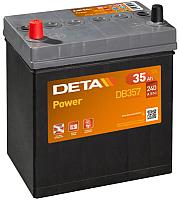 Автомобильный аккумулятор Deta Power DB357 (35 А/ч) -