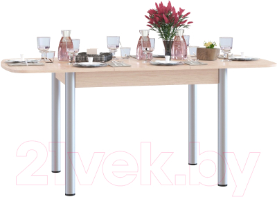 Обеденный стол Сокол-Мебель СО-3м (дуб беленый)