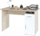 Письменный стол Сокол-Мебель СПМ-03.1 (дуб сонома/белый) -