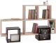 Полка Сокол-Мебель ПК-10 (беленый дуб/венге) -