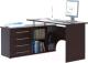 Компьютерный стол Сокол-Мебель КСТ-109 (левый, венге) -