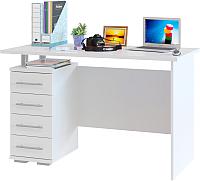 Письменный стол Сокол-Мебель КСТ-106.1 (белый) -