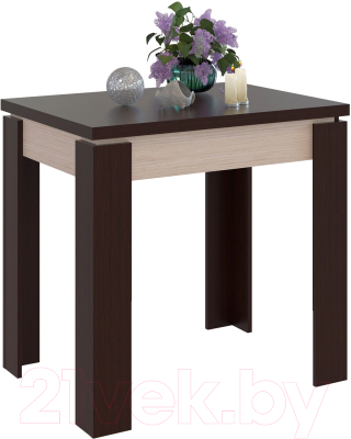 Обеденный стол Сокол-Мебель СО-1 (беленый дуб/венге)
