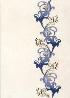 Декоративная плитка Березакерамика Мрия синяя (250x350) -