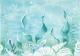 Декоративная плитка Березакерамика Лазурь Морское дно бирюзовая (250x350) -