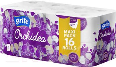 Туалетная бумага Grite Orchidea White (16рул)