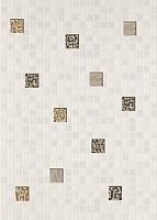 Декоративная плитка Березакерамика Квадро мозаика белый (250x350) -
