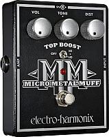 Педаль электрогитарная Electro-Harmonix Micro Metal Muff -