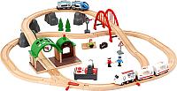 Железная дорога игрушечная Brio Городская дорога (поездка) 33277 -