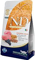 Корм для кошек Farmina N&D Low Grain Lamb & Blueberry Adult (1.5кг) -
