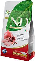 Корм для кошек Farmina N&D Grain Free Cat Chicken & Pomegranate Neutered (5кг) -