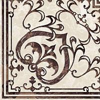 Вставка Golden Tile Вулкано Д11331 (93x93, бежевый) -