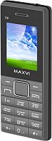 Мобильный телефон Maxvi C9 (серый/черный) -