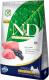 Корм для собак Farmina N&D Grain Free Lamb & Blueberry Adult Mini (2.5кг) -