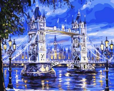 Картина по номерам Picasso Тауэрский мост (PC4050160)