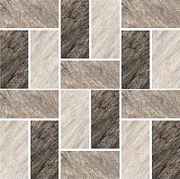 Мозаика Керамин Кварцит 2/1 (300x300) -