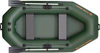 Надувная лодка Kolibri К240Т (c ковриком-книжкой из 2-х частей) -