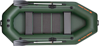 Надувная лодка Kolibri К280Т (c ковриком-книжкой из 2-х частей) -
