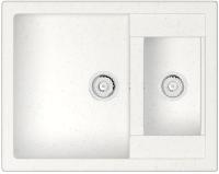Мойка кухонная Berge BR-6150 (белый) -