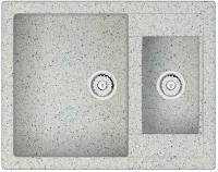 Мойка кухонная Berge BR-6150 (серый) -