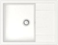 Мойка кухонная Berge BR-6502 (белый) -