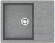 Мойка кухонная Berge BR-6502 (графитовый) -