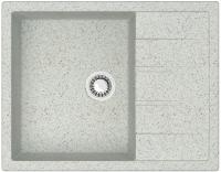 Мойка кухонная Berge BR-6502 (серый) -
