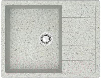 Мойка кухонная Berge BR-6502 (серый)