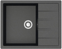 Мойка кухонная Berge BR-6502 (черный) -