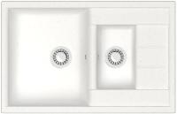Мойка кухонная Berge BR-7612 (белый) -
