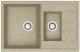 Мойка кухонная Berge BR-7612 (песочный) -