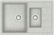 Мойка кухонная Berge BR-7612 (серый) -