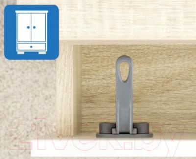 Блокиратор мебельный Reer DesignLine / 71011 (антрацит)