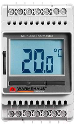 Терморегулятор для теплого пола Warmehaus ETN/4