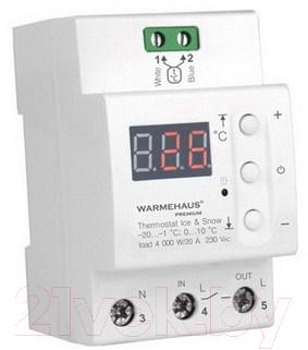 Терморегулятор для теплого пола Warmehaus Ise&Snow DIN 30