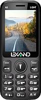 Мобильный телефон Lexand A3 Light (черный) -