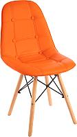 Стул Mio Tesoro Элма SC-004 (оранжевый/дерево) -
