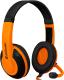 Наушники-гарнитура Defender Warhead G-120 / 64099 (черный/оранжевый) -