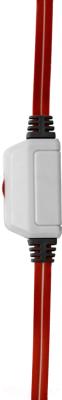 Наушники-гарнитура Defender Warhead G-120 / 64098 (красный/белый)